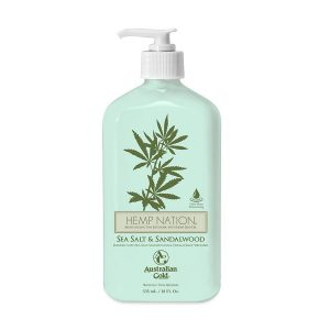 Hemp Nation Sea Salt and Sandalwood Tan Extender