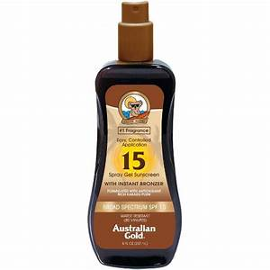 AG SPF 15 Spray Gel